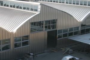 rivestimento di facciata in metallo