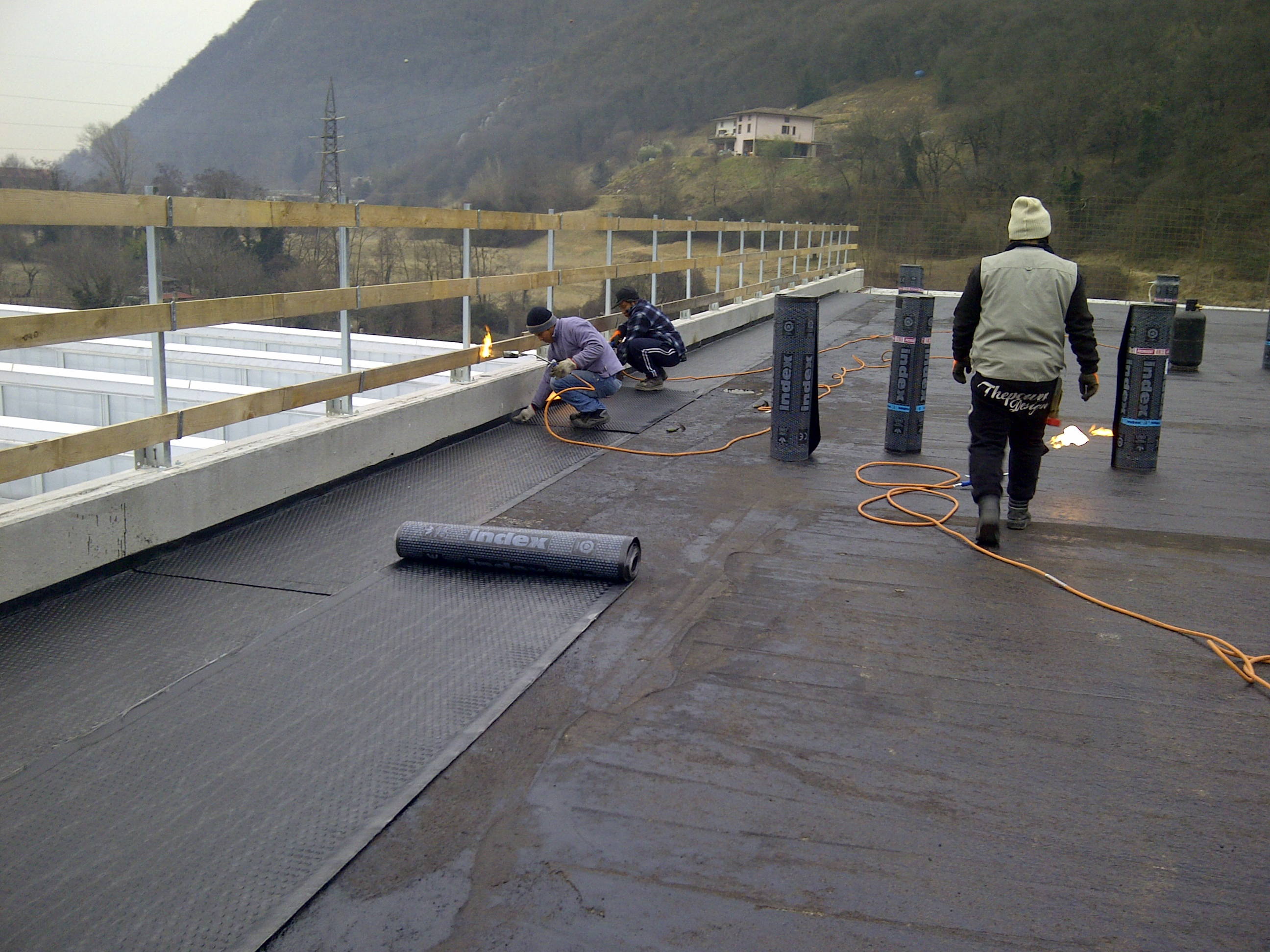 impermeabilizzazione tetti brescia